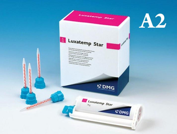 Люксатемп (Luxatemp)-Star AM цв. А2 (картридж 76г), DMG