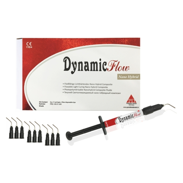 Динамик Флоу Кит (Dynamic Flow Kit) набор (5 шприц), Pr. Dental