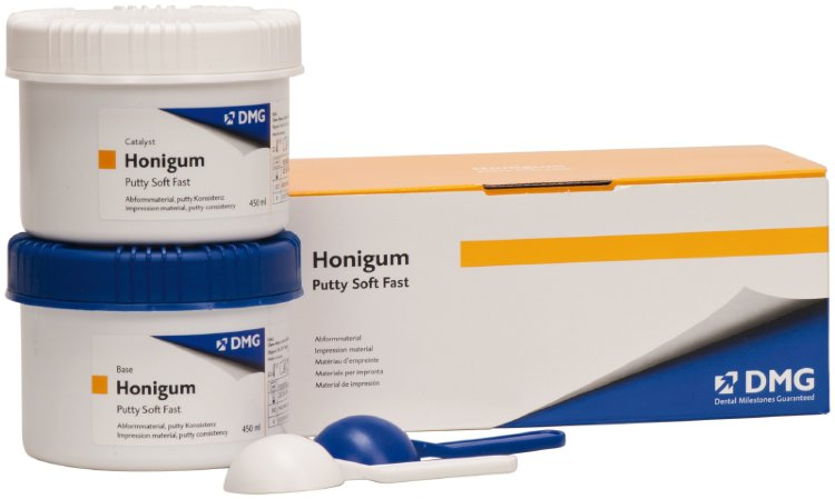 Хонигум Патти Софт Фаст (Honigum Putty Soft Fast) (2х450мл), DMG