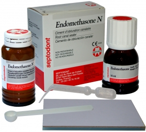 Эндометазон (Endomethasone) набор (14г+10мл), СЕПТОДОНТ
